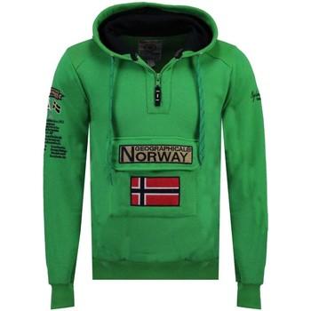 Vêtements Homme Sweats Geographical Norway Sweat Homme Gymclass Color Fluo Vert