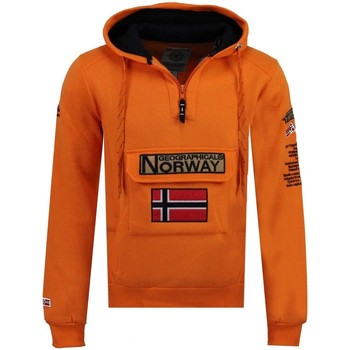 Vêtements Homme Sweats Geographical Norway Sweat Homme Gymclass Color Fluo Orange