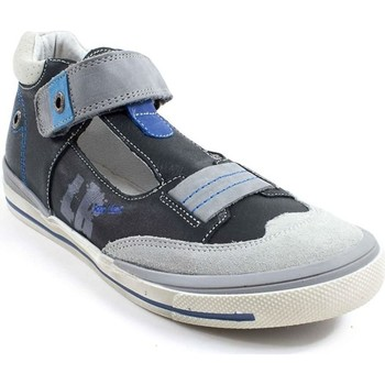 Chaussures Garçon Sandales et Nu-pieds Loup Blanc Herik Noir