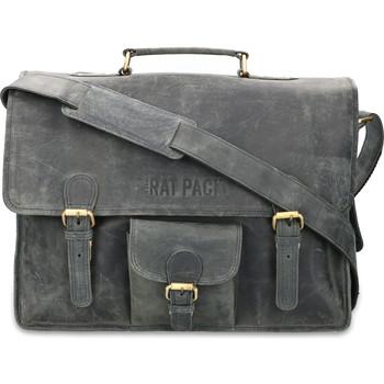Sacs Homme Porte-Documents / Serviettes Rat Pack By Orange Fire Porte-documents 15.6 pouces Rat Pack 1-Vaks OF 557/15 Bleu