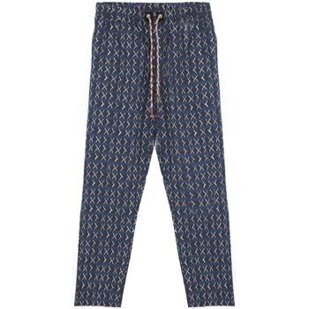 Vêtements Homme Pyjamas / Chemises de nuit Madson | Pantalone Stampato, Blu | MDS_DU20038 P10 bleu