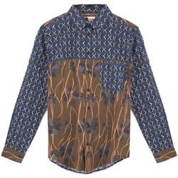 Vêtements Homme Chemises manches longues Madson | Chemise imprimee double, multi | MDS_DU20048 C.2 Multicolor