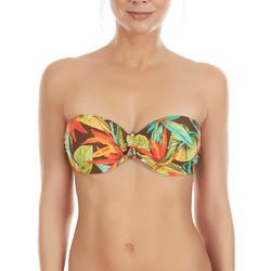 Vêtements Femme Maillots de bain séparables Selmark Haut maillot de bain bandeau Bird Of Paradise  Mare Vert