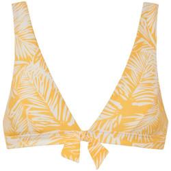 Vêtements Femme Maillots de bain séparables Beachlife Haut maillot de bain triangle sans armatures Palm Glow Jaune