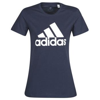 Vêtements Femme T-shirts manches courtes adidas Performance W BOS CO TEE Bleu