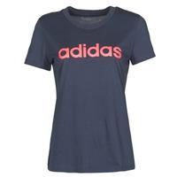 Vêtements Femme T-shirts manches courtes adidas Performance W E LIN SLIM T encre légende