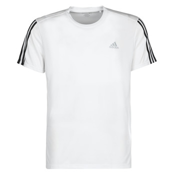 Vêtements Homme T-shirts manches courtes adidas Performance RUN IT TEE 3S M blanc