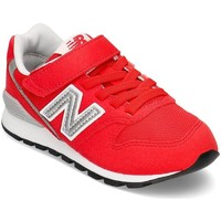 Chaussures Enfant Baskets basses New Balance 996 Blanc, Rouge
