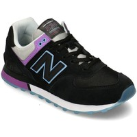 Chaussures Femme Baskets basses New Balance 574 Noir, Violet