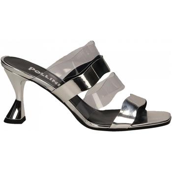 Chaussures Femme Sandales et Nu-pieds Pollini Silver POLLINI SE54 argento