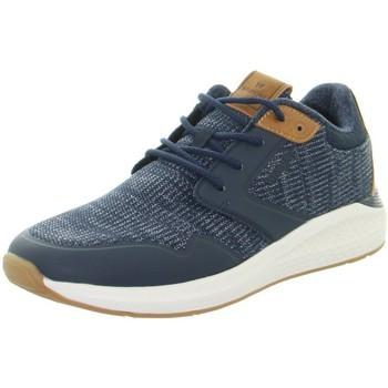 Chaussures Homme Baskets basses Wrangler Baskets homme  ref_49003 Marine Bleu