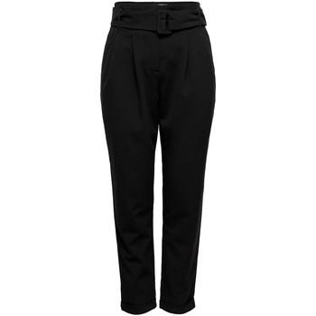 Vêtements Pantalons Only ONLSICA HW PAPERBAG PANTS noir
