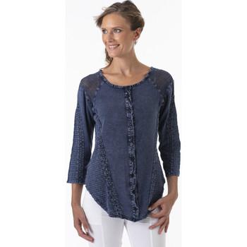 Vêtements Femme Chemises / Chemisiers La Cotonniere CHEMISE DOLY Bleu