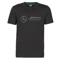 Vêtements Homme T-shirts manches courtes Puma MAPM LOGO TEE Noir