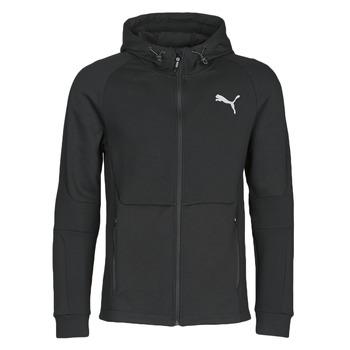 Vêtements Homme Vestes de survêtement Puma EVOSTRIPE FZ HOODY Noir