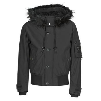 Vêtements Homme Parkas Diesel W-JAMES Noir