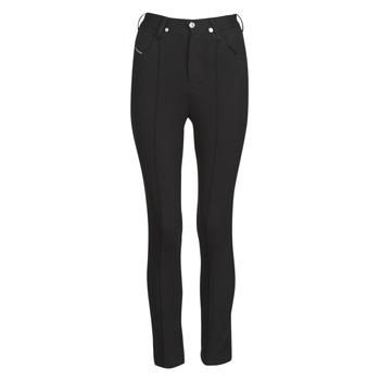 Vêtements Femme Pantalons 5 poches Diesel P-CUPERY Noir9XX