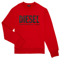 Vêtements Garçon Sweats Diesel SCREWDIVISION LOGO Rouge