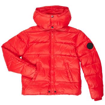 Vêtements Garçon Doudounes Diesel JSMITHYAWH Rouge