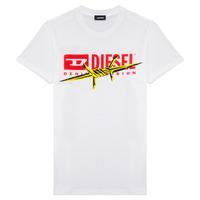 Vêtements Garçon T-shirts manches courtes Diesel TDIEGOBX2 Blanc