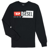 Vêtements Enfant T-shirts manches longues Diesel TDIEGOCUTY Noir