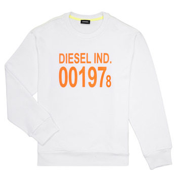 Vêtements Enfant Sweats Diesel SGIRKJ3 Blanc