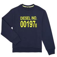 Vêtements Enfant Sweats Diesel SGIRKJ3 Bleu