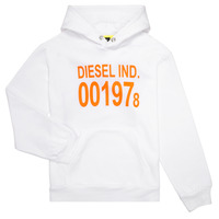 Vêtements Enfant Sweats Diesel SGIRKHOOD Blanc