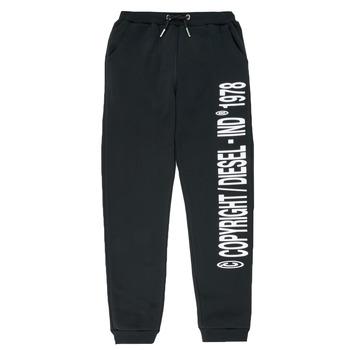 Vêtements Garçon Pantalons de survêtement Diesel PLAMPCOPY Noir