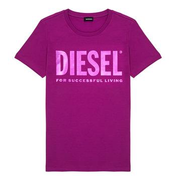 Vêtements Fille T-shirts manches courtes Diesel TSILYWX Rose
