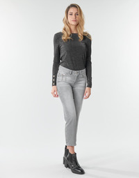 Vêtements Femme Jeans droit Freeman T.Porter LOREEN DENIM Gris