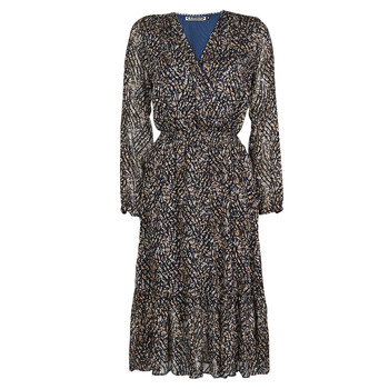 Vêtements Femme Robes longues Freeman T.Porter ROSITA FLOWERLY Multicolor