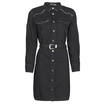 Vêtements Femme Robes longues Freeman T.Porter ORLANE DENIM Noir