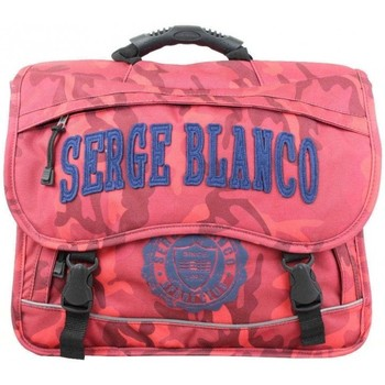 Sacs Enfant Cartables Serge Blanco Cartable  motif militaire camo PRE 2 compartiments rouge