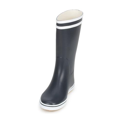 Pluie MarineBlanc Bottes Chaussures Aigle De Femme Malouine JlKF1Tc3