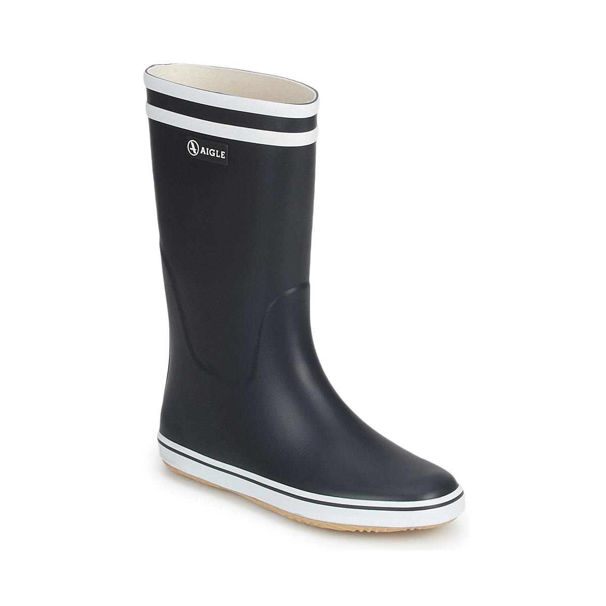 aigle malouine marine blanc livraison gratuite avec chaussures bottes de. Black Bedroom Furniture Sets. Home Design Ideas