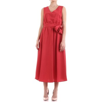 Vêtements Femme Robes longues Fly Girl 9890-02 Rouge