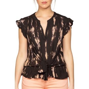 Vêtements Femme Tops / Blouses Deeluxe Blouse CLARA Black