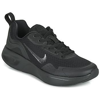 Chaussures Femme Baskets basses Nike WEARALLDAY Noir