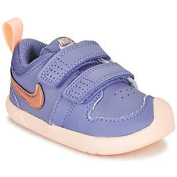 Chaussures Fille Baskets basses Nike PICO 5 TD Violet / Rose
