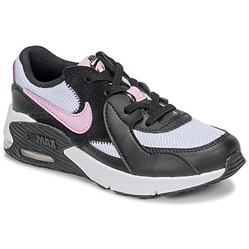 Chaussures Fille Baskets basses Nike AIR MAX EXCEE PS Noir / Blanc / Rose