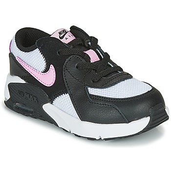 Chaussures Fille Baskets basses Nike AIR MAX EXCEE TD Noir / Blanc / Rose