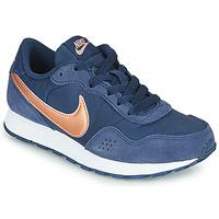 Chaussures Enfant Baskets basses Nike MD VALIANT GS Bleu / Cuivre