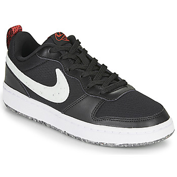 Chaussures Enfant Baskets basses Nike COURT BOROUGH LOW 2 MTF GS Noir / Blanc