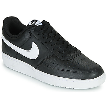 Chaussures Homme Baskets basses Nike COURT VISION LOW Noir / Blanc