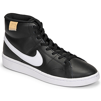 Chaussures Homme Baskets basses Nike COURT ROYALE 2 MID Noir / Blanc