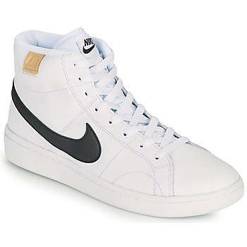Chaussures Homme Baskets basses Nike COURT ROYALE 2 MID Blanc / Noir