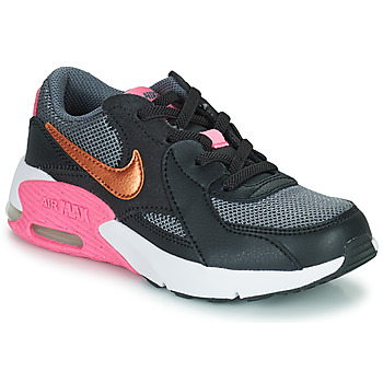 Chaussures Homme Baskets basses Nike AIR MAX EXCEE PS Noir / Doré / Rose