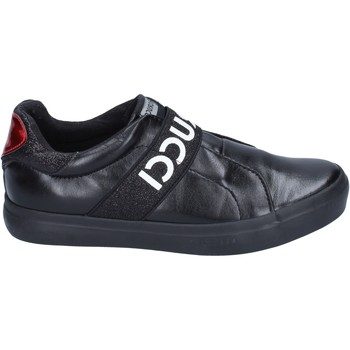 Chaussures Fille Slip ons Fiorucci BM427 noir