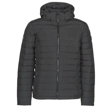 Vêtements Homme Doudounes Superdry HOODED FUJI JACKET Noir